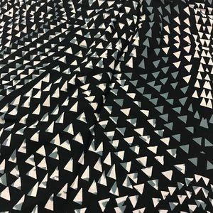 Converse Tops - [Converse] One Star Geometric Blouse